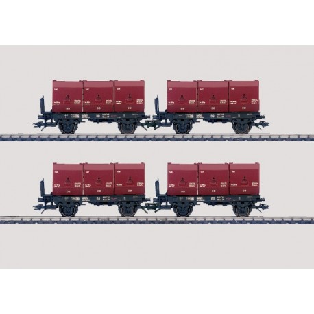 Set Kohletransport DB -H0-